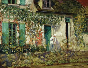 Yje House in Giverny