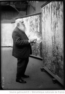 Claude Monet (Photo issue de la Bibliothèque numérique Gallica)