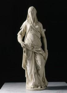 """Femme voilée"" d'Antonio Corradini"