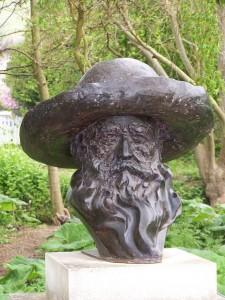 Buste de Claude Monet (Photo Bruno Guédot)