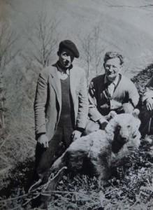 Le docteur Marcel Couturier (à droite)