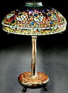 Lampe Peacok