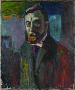 Matisse, autoportrait