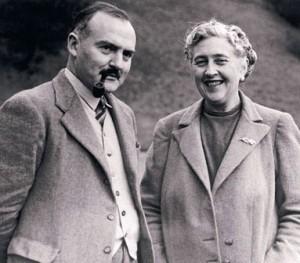 Agatha et son mari Max Mallowan, archéologue de renom.