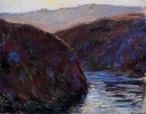 Vallée de la Creuse, effet du soir (1889)