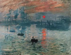 Impression, soleil levant (1872)